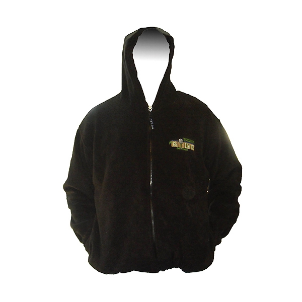 20 Degrees Below full zip hood fleece j102