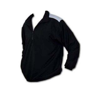 Black Golf jacket with partial front zipper