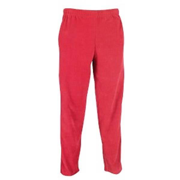 bright pink open leg fleece pants