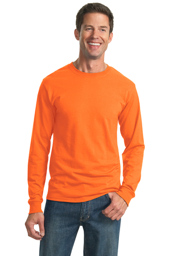 29LS SafetyOrange Jerzees Dri Power LS tee (available in 20 plus colors)