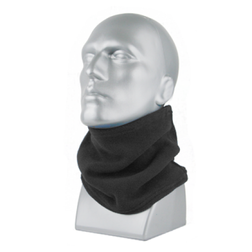 SPORT FLEECE NECK GAITER - BLACK ONLY 60863 (must buy in increments of 12)