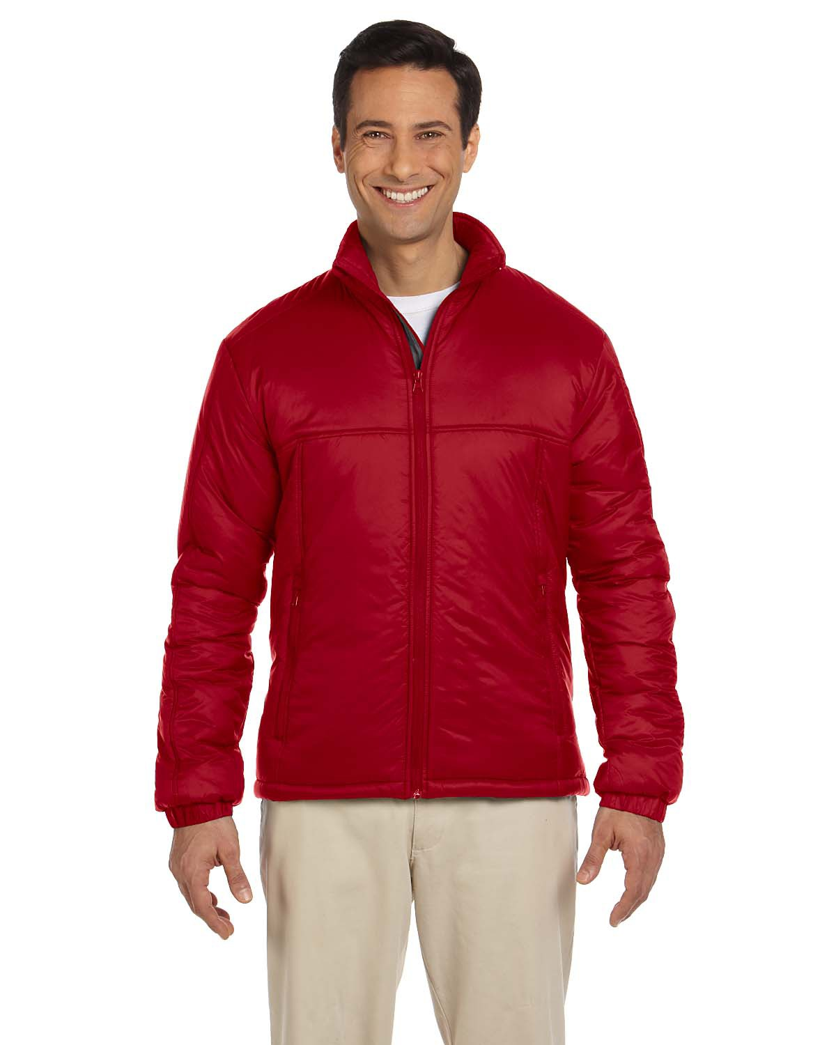 Harriton Men's Essential Polyfill Jacket (being discontinued)