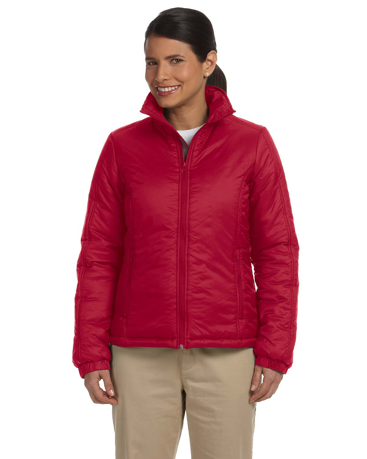 Harriton Ladies' Essential Polyfill Jacket (being discontinued)