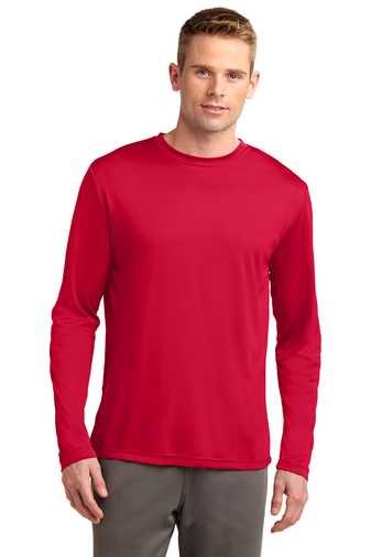 ST350LS Sprt Tek Long Sleeve Posi Perfomance Tee (available in over 20 colors)