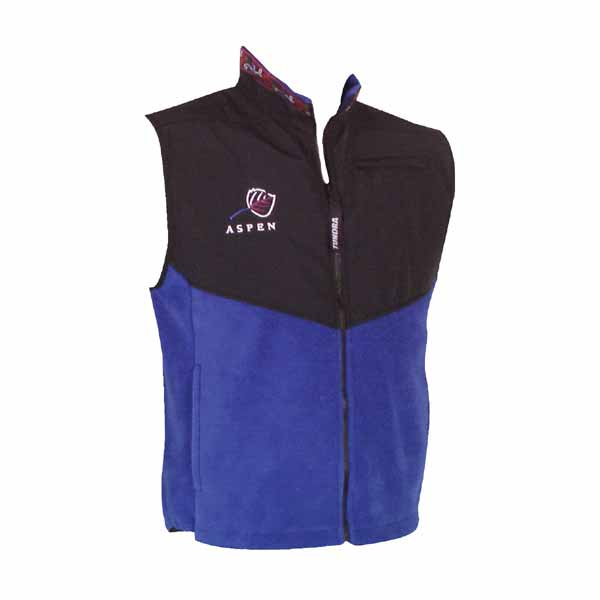 20 Degrees Below Polar Fleece Taslan Vest V113