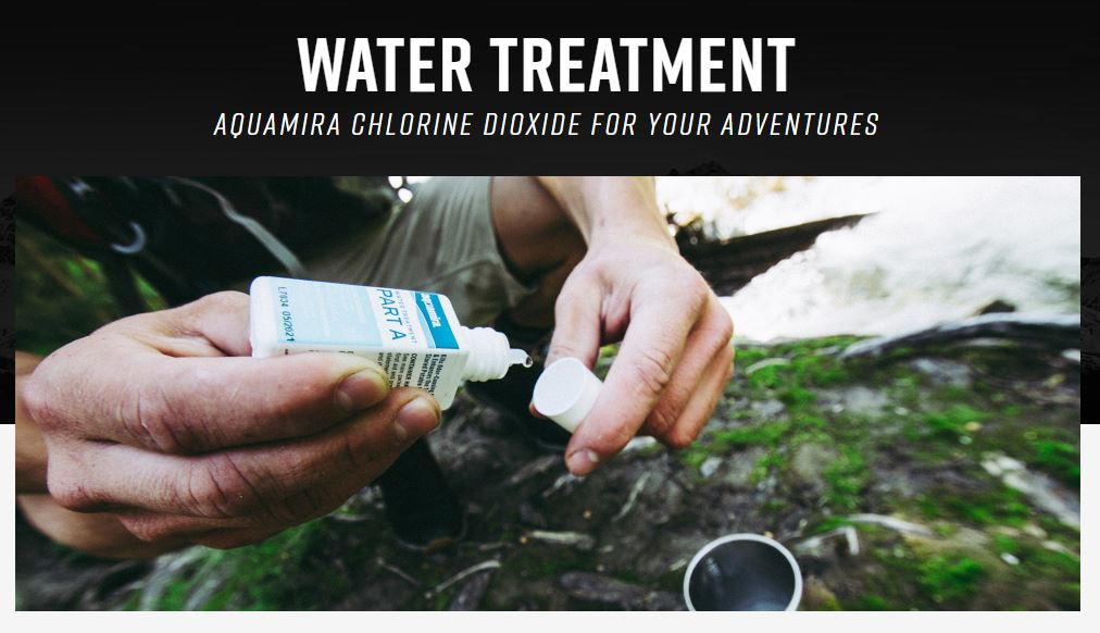 Aquamira water treatment 1oz